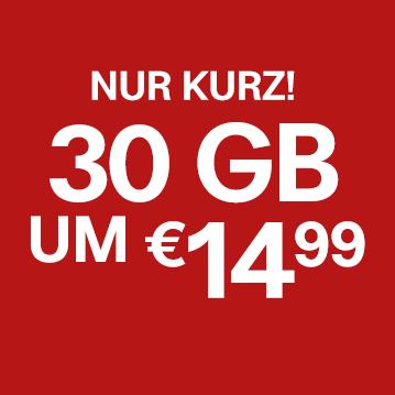 30 GB um €14,99