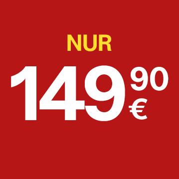 Nur 149,90 Euro