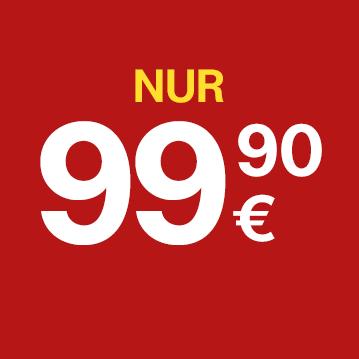 Nur 99,90 Euro