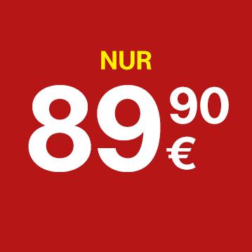 Nur €89,90