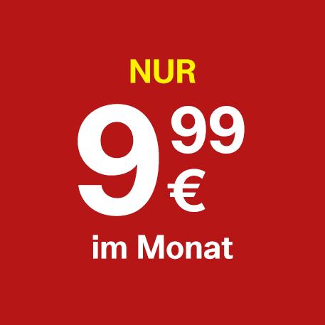 10 GB um nur €9,99 pro Monat.