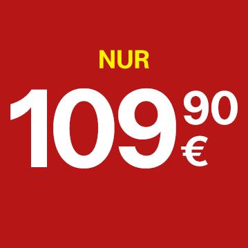 Nur €109,90