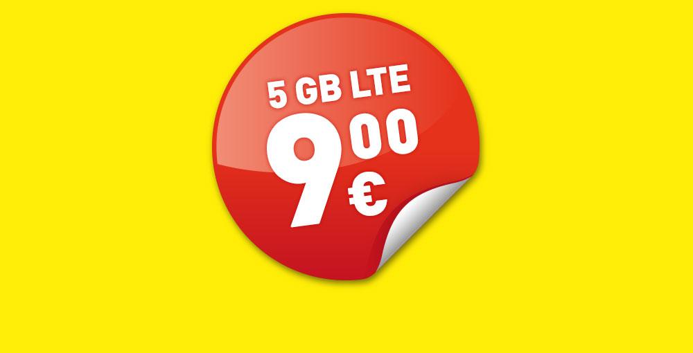 5GB LTE um nur €9
