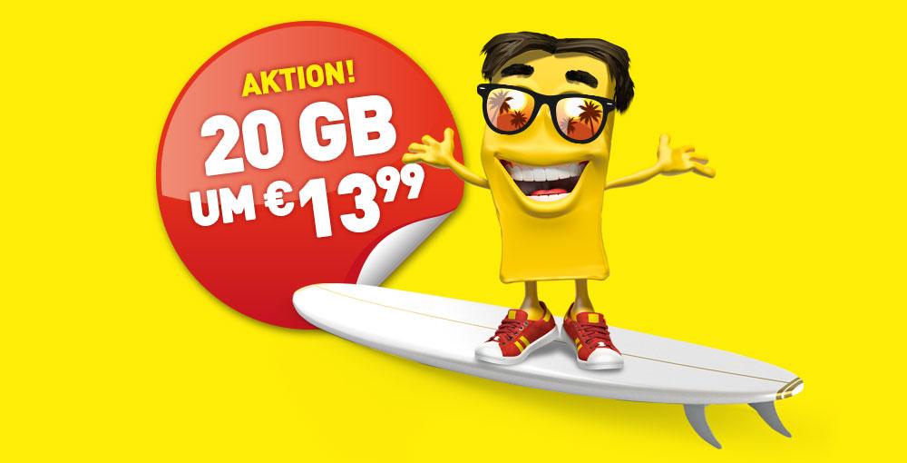 complete LTE XL jetzt mit 14 GB um €13,99