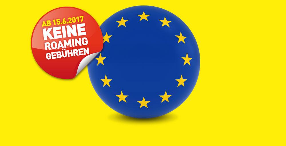 Keine Roaming-Gebühren mehr in der EU!