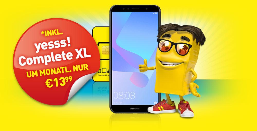 Huawei Y6 2018 um nur €149,90
