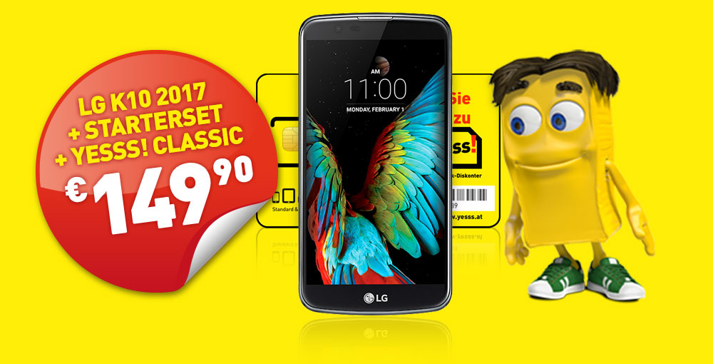 LG K10 2017 um nur €149,90