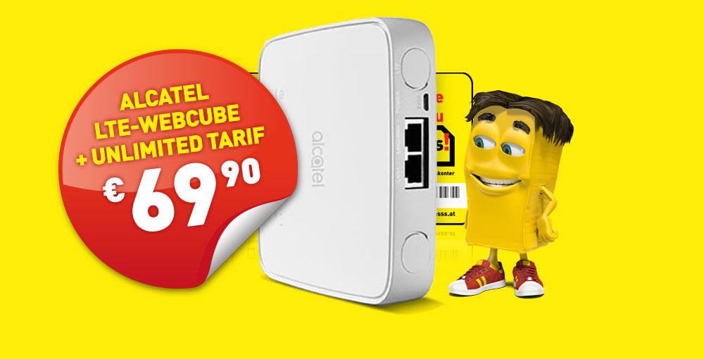 Alcatel LTE-Cube um nur €69,90