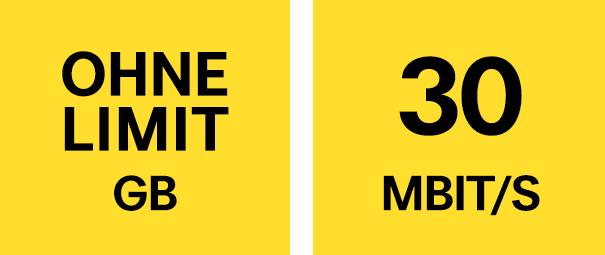 Unlimitiertes Datenvolumen in Österreich und LTE bis 30 Mbit/s