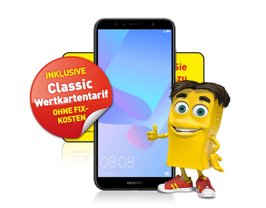 Huawei Y6 2018 LTE inkl. Classic Wertkartentarif