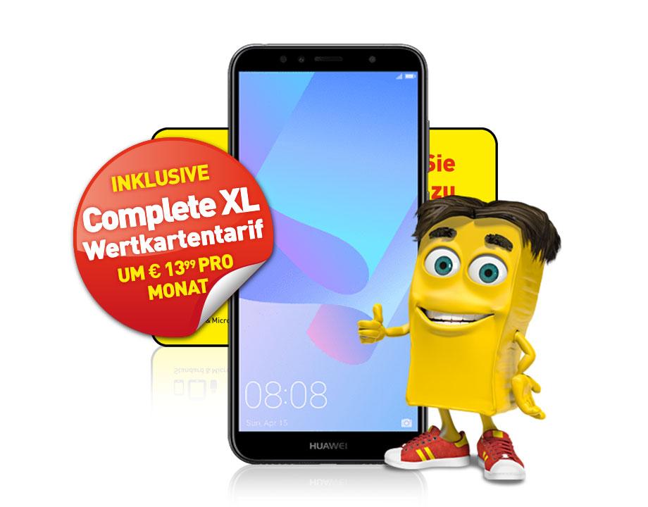 Huawei Y6 2018 LTE inkl. Complete XL Wertkartentarif