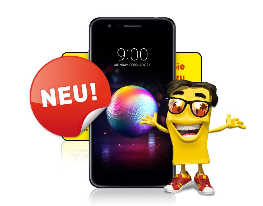 LG K11 LTE inkl. Classic Wertkartentarif