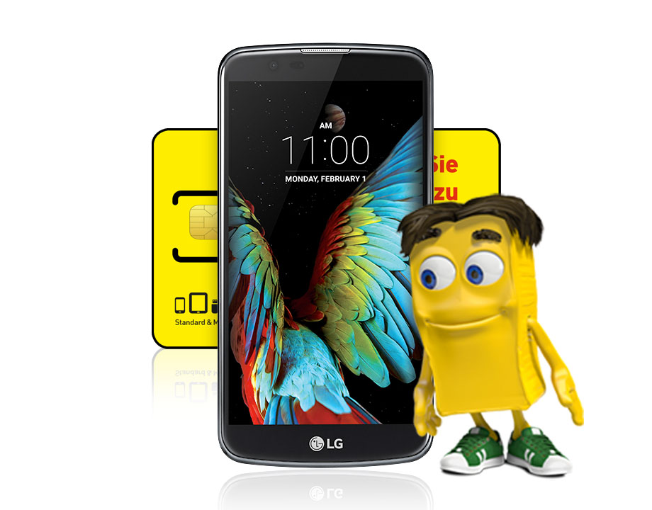 LG K10 2017 inkl. Classic Wertkartentarif